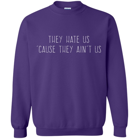 They Hate Us 'Cause They Ain't Us, Apparel  | Evan Mila - EvanMila.com