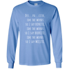 Image of Des...pa..cito Long Sleeve Shirt - Limited Time Offer, T-Shirts  | Evan Mila - EvanMila.com