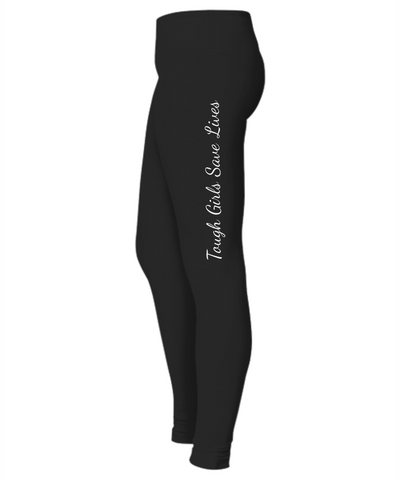 Tough Girls Save Lives Leggings, Leggings  | Evan Mila - EvanMila.com