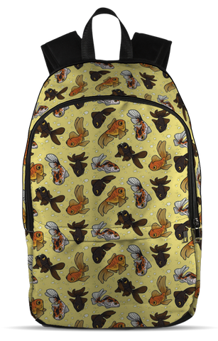 Goldfish, All Over Backpack  | Evan Mila - EvanMila.com