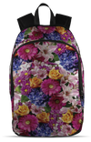 Floral Flowers, All Over Backpack  | Evan Mila - EvanMila.com