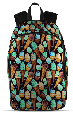 Ice Cream Lovers, All Over Backpack  | Evan Mila - EvanMila.com