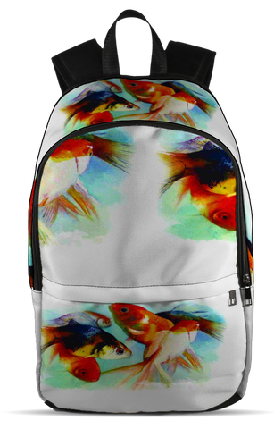 Fish Keeping, All Over Backpack  | Evan Mila - EvanMila.com