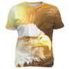 Bald Eagle Painting, Sublimation Unisex T-shirts  | Evan Mila - EvanMila.com