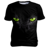 Black Cat, Sublimation Unisex T-shirts  | Evan Mila - EvanMila.com