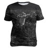 Chicago In Black And White, Sublimation Unisex T-shirts  | Evan Mila - EvanMila.com