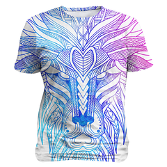 Ethnic Lion, Sublimation Unisex T-shirts  | Evan Mila - EvanMila.com