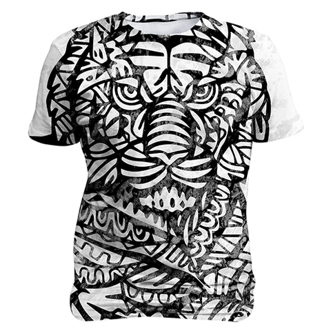Ethnic Tiger, Sublimation Unisex T-shirts  | Evan Mila - EvanMila.com
