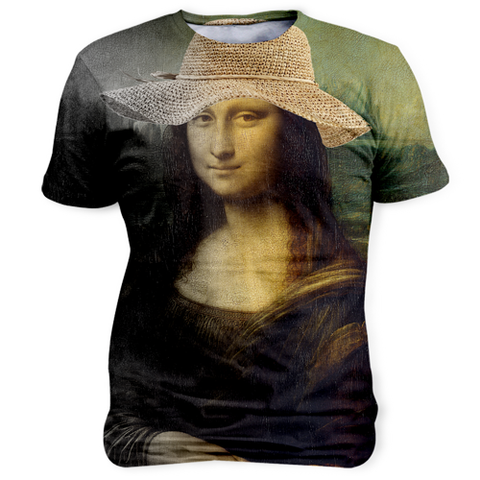 Mona Lisa In Hat