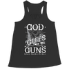 Limited Edition - God Guts Guns, Bella Flowy Racerback Tank  | Evan Mila - EvanMila.com
