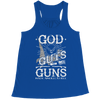 Image of Limited Edition - God Guts Guns, Bella Flowy Racerback Tank  | Evan Mila - EvanMila.com