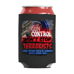 Limited Edition -Gun Control Won't Stop Terrorists, Can Wraps  | Evan Mila - EvanMila.com