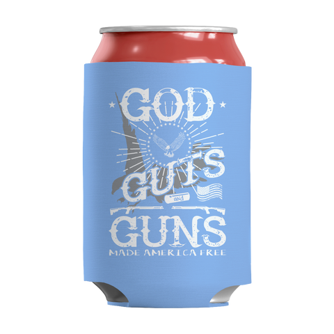 Limited Edition - God Guts Guns, Can Wraps  | Evan Mila - EvanMila.com