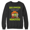 Image of Limited Edition - Halloween Is The Only Time I Can Convince My Neighbors My Kids Are Monsters, Crewneck Fleece  | Evan Mila - EvanMila.com