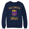 Image of Limited Edition - Halloween Makes Me So Corny ( version 1), Crewneck Fleece  | Evan Mila - EvanMila.com