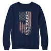 Image of Limited Edition - Thank You Flag, Crewneck Fleece  | Evan Mila - EvanMila.com