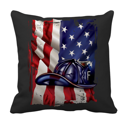 Limited Edition - American Flag Blue Helmet, Pillow Cases  | Evan Mila - EvanMila.com