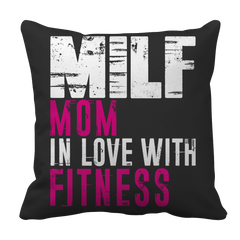 Limited Edition - MILF Mom In Love With Fitness, Pillow Cases  | Evan Mila - EvanMila.com