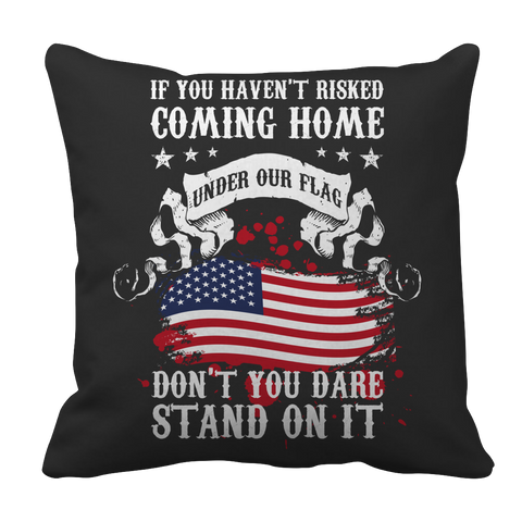 Limited Edition -  If You Haven't Risked, Pillow Cases  | Evan Mila - EvanMila.com