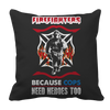 Limited Edition -  Firefighters because cops need heroes too, Pillow Cases  | Evan Mila - EvanMila.com