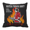 Image of Limited Edition -  Whatcha Thinking About? Fire stuff..., Pillow Cases  | Evan Mila - EvanMila.com