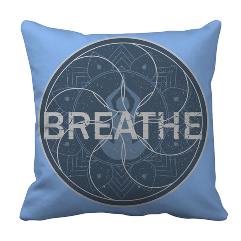 Limited Edition - Breathe Yoga, Pillow Cases  | Evan Mila - EvanMila.com