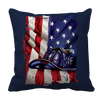 Image of Limited Edition - American Flag Blue Helmet, Pillow Cases  | Evan Mila - EvanMila.com