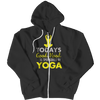 Limited Edition - Today's Good Mood Is Sponsored By Yoga, Zipper Hoodie  | Evan Mila - EvanMila.com