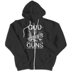 Image of Limited Edition - God Guts Guns, Zipper Hoodie  | Evan Mila - EvanMila.com