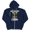 Limited Edition - Halloween Makes Me So Corny ( version 2), Zipper Hoodie  | Evan Mila - EvanMila.com