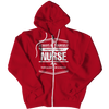 Image of Limited Edition - Always Be Yourself ( Nurse), Zipper Hoodie  | Evan Mila - EvanMila.com