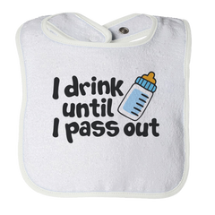 Cry Drink Pass Out -1, Bibs  | Evan Mila - EvanMila.com