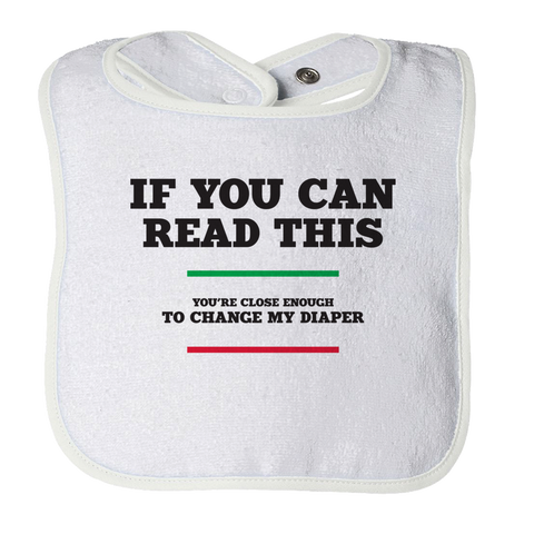 If You Can Read This - 1, Bibs  | Evan Mila - EvanMila.com