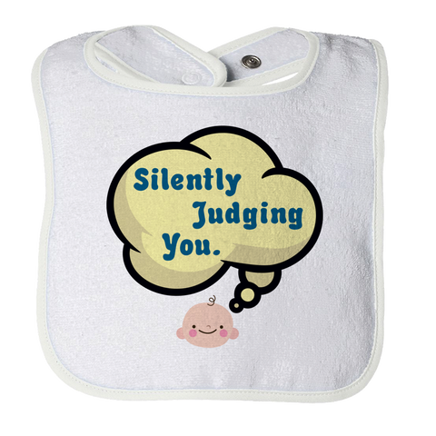 Silently Judging You -1, Bibs  | Evan Mila - EvanMila.com