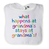 What Happens at Grandmas Stays at Grandmas, Bibs  | Evan Mila - EvanMila.com