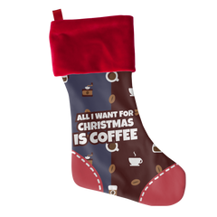 All I Want Coffee, Stockings  | Evan Mila - EvanMila.com
