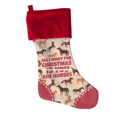 All I Want Horses, Stockings  | Evan Mila - EvanMila.com