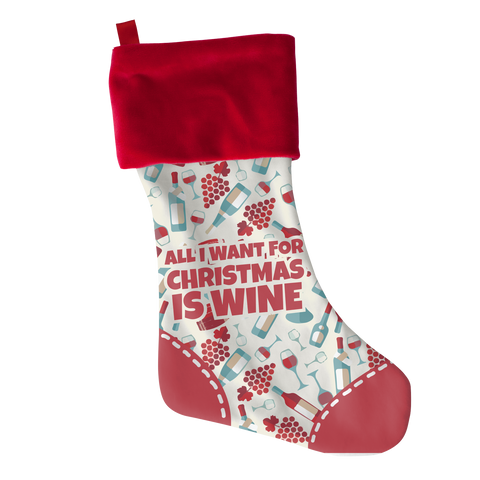 All I Want Wine, Stockings  | Evan Mila - EvanMila.com