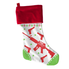 AR 15 Xmas, Stockings  | Evan Mila - EvanMila.com