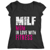 Image of Limited Edition - MILF Mom In Love With Fitness, Unisex Shirt  | Evan Mila - EvanMila.com