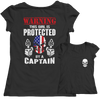 Image of Limited Edition - Warning This Girl is Protected by a Captain