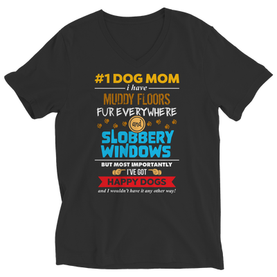 Limited Edition - # 1 Dog Mom, Unisex Shirt  | Evan Mila - EvanMila.com