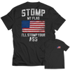 Limited Edition - Stomp My Flag I'll Stomp Your Ass, Unisex Shirt  | Evan Mila - EvanMila.com