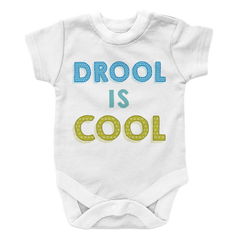 Drool Is Cool - 2, Onesies  | Evan Mila - EvanMila.com