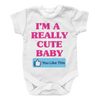 I'm A Really Cute Baby - 2, Onesies  | Evan Mila - EvanMila.com
