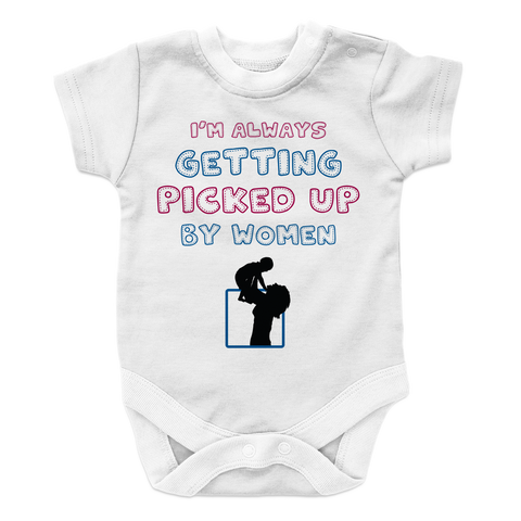 Getting Picked Up- 2, Onesies  | Evan Mila - EvanMila.com