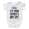 I Am your fathers day gift mom says your welcome BOY 1, Onesies  | Evan Mila - EvanMila.com