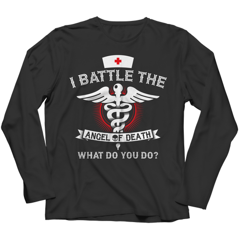 I Battle The Angel of Death, Unisex Shirt  | Evan Mila - EvanMila.com