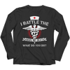 Image of I Battle The Angel of Death, Unisex Shirt  | Evan Mila - EvanMila.com
