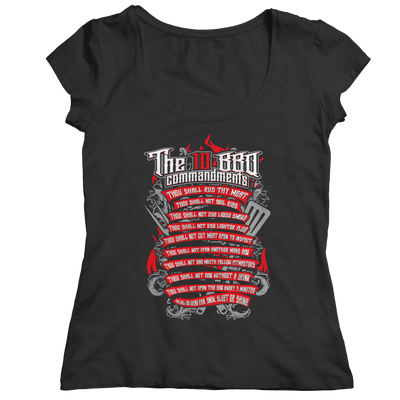 The 10 BBQ Commandments, Unisex Shirt  | Evan Mila - EvanMila.com